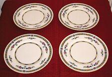 4 1923 Royal Doulton England H1822 Floral Garlands & Laurel Leaves Dinner Plates