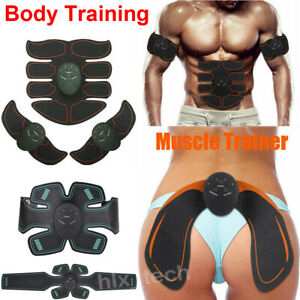 ABS Simulator EMS Training Smart Body Abdominal Muscle Exerciser Hip Trainer HOT