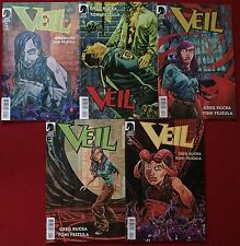 Veil (2014) #1-5 - Comic Books - Greg Rucka & Dark Horse Comics