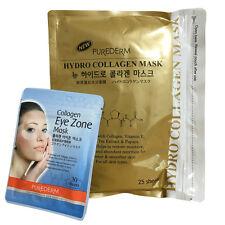 Purederm Gold Hydro Collagen Mask 1 Pack (25 Sheet) + Eye Zone Mask (30 Sheet)