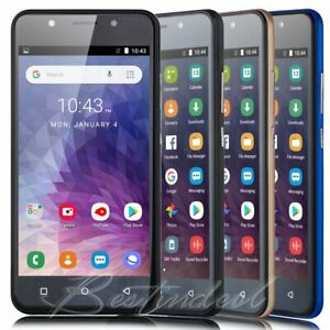 NEW RAM 1GB Android 8.1 GSM Unlocked Cell Smart Phone Dual SIM 3G WIFI 5 Inch