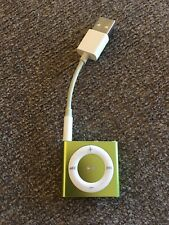 Apple 4th Generation iPod Shuffle 2GB Green Color Pre-Owned Tested MD773LL/A