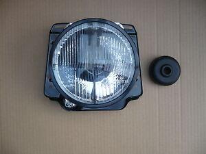Scheinwerfer schwarz  mit Fadenkreuz für Volkswagen VW Golf 2 II 1 Satz 2 Stück