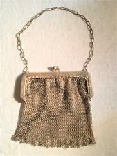 Vintage Metal Mesh Purse by Whiting Davis