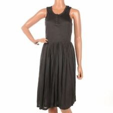 Silk Regular Dresses for Women with Pleated
