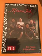TLC Miami Ink Five Friends & Never Forget DVD New And Sealed
