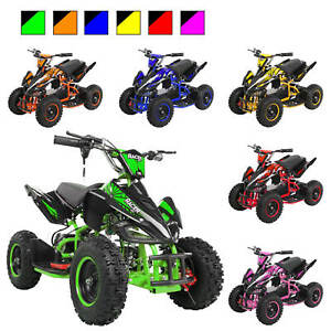 Elektro Quad Miniquad Kinder Racer 1000W Pocket Kinderquad Pocketbike ATV Miweba