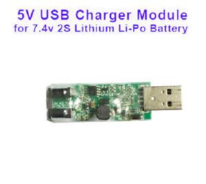 5V USB Charger Module for 2S 7.4V Lithium Li-ion Li-Po 18650 Batterie Cell 8.4V