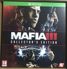 MAFIA 3 III COLLECTOR'S EDITION XBOX ONE NEW SEALED PAL UK ENGLISH COLLECTORS