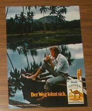 Seltene Werbung CAMEL FILTER - Der Weg lohnt sich #5 1980