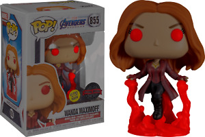 Avengers 4: Endgame - Wanda Maximoff Glow in the Dark Pop! Vinyl Figure NEW