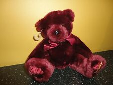 Beverly Hills Birthstone Bear January Garnet 6-9 inch Retired