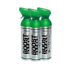 Boost Oxygen Natural 200 Breath (Large Size) - 3 Pack