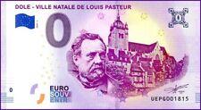UE PG-1 / DOLE - LOUIS PASTEUR / BILLET SOUVENIR 0 € / 0 € BANKNOTE 2019-1