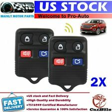 2x Car Remote Keyless Entry Key Fob 4 Button for Ford Mustang Explorer Taurus US