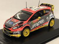 2011-2014 Ford Fiesta RS WRC No21 M.Prokop J.Tomanek Monte Carlo 1:43 Scale