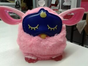 Hasbro Furby Connect Friend Pink w/Sleeping Mask Tested Working