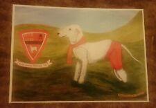 Bedlington Terriers Postcard