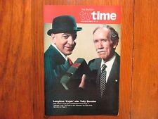 March 8, 1981 Philadelphia Bulletin TV Time (TELLY   SAVALAS/HELLINGER'S  LAW)