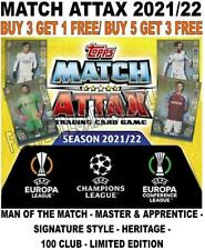 MATCH ATTAX 2021/22 21/22 CHAMPIONS LEAGUE 100 CLUBS/ LIMITED EDITIONS & SUBSETS