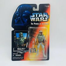 1995 STAR WARS NEW Sealed POTF ORANGE CARD BOBA FETT.