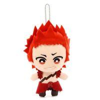 Banpresto My Hero Academia Tomonui Anime Plush Keychain Eijiro Kirishima BP38526