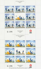 Europa CEPT 2007 BOY SCOUT SCOUTS-Groenlandia GREENLAND 482-83 piccoli archi **