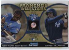 Lot of (77) Robinson Cano / Tyler Austin 2012 Bowman Chrome All Stars Inserts