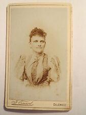 Delémont-Femme en Robe-portrait/CDV
