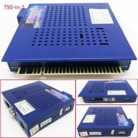 750 in 1 PCB Game Elf Horizontal Arcade Multigame JAMMA Game Board Replacement