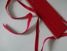 1,20€/m-Gummiband,  Gummilitze ,Wäschegummi,Gummi Spitze in rot 3mx8mm