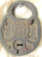 Antique Southern Pacific Railroad Padlock