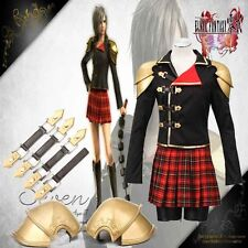 Final Fantasy GamePeristylium Type-0 Seven1st Cosplay Costume Suzaku Group Zero