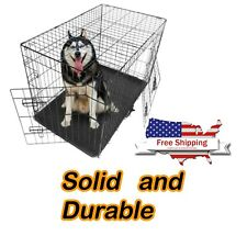 Dog Crate Iron wire dog cage pet house