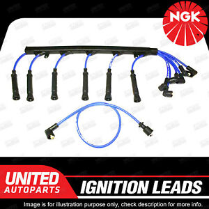 NGK Spark Plug Ignition Lead Set for BMW 535i E28 E34 730i 735i E32 16Cyl