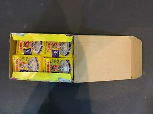 1986 Topps Garbage Pail Kids 4th Series Empty Display Box & 33 Wax Pack Wrappers
