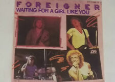 "FOREIGNER -Waiting For A Girl Like You- 7"" 45"