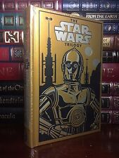 Star Wars Trilogy C3PO Cover with Poster New Sealed Leather Bound Collectible