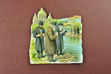 Glanzbild, Oblate, Judaica, 1900, Warschau, Motiv 7