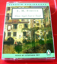 E.M.Forster Where Angels Fear To Tread 2-Tape Audio Book Stephen Fry