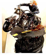 Ghost Rider Black Chrome Variant Statue Bowen Designs Marvel Comics 2004 Special