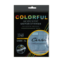 Acoustic Guitar Strings Light 1048 Inch 85/15 Phosphor Bronze Round Wound String