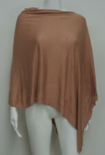 EILEEN FISHER O/S Silk Linen Angled Poncho Sweater
