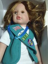 """Paradise Galleries Girl Scouts Doll 17 1/2"""" w/ Box Vinyl"""