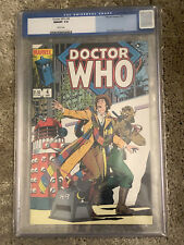DOCTOR WHO #4 cgc 9.8 - Featuring The 4th Doctor & K9 - Marvel Comics 1985