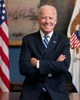 JOE BIDEN - Repro-Autogramm, 20x25 cm, 46. US Präsident, signed, autograph