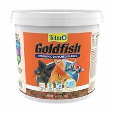Tetra Goldfish Flakes 2.2 Pound Bucket Nutritionally Balanced Diet For Aquarium