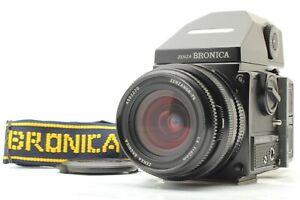 【 Nahe Mint 】 Zenza Bronica ETR Si, Ae-Iii Finder, Pe 40mm f4 Linse, 120 Rücken,