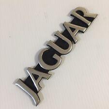Genuine Jaguar XJ6 Trunk Boot Rear Badge Emblem | Die Cast Metal