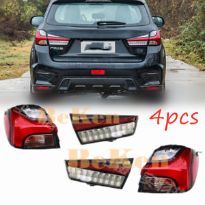 For Mitsubishi Outlander Sport ASX 2011-2021 Rear Tail taillight Signal light 4x